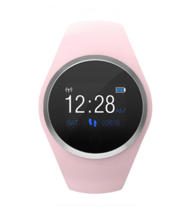 Smartwatch Rosa de Silicona Radiant - RAS20701