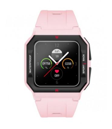 Smartwatch Retro para Mujer Rosa Radiant - RAS10503